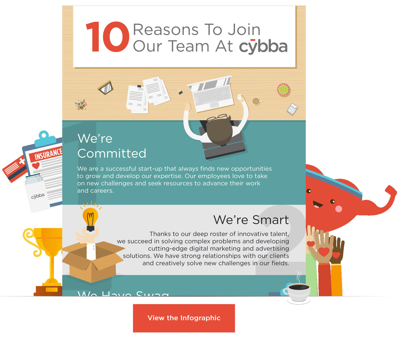 10 Reasons to Join Our Team