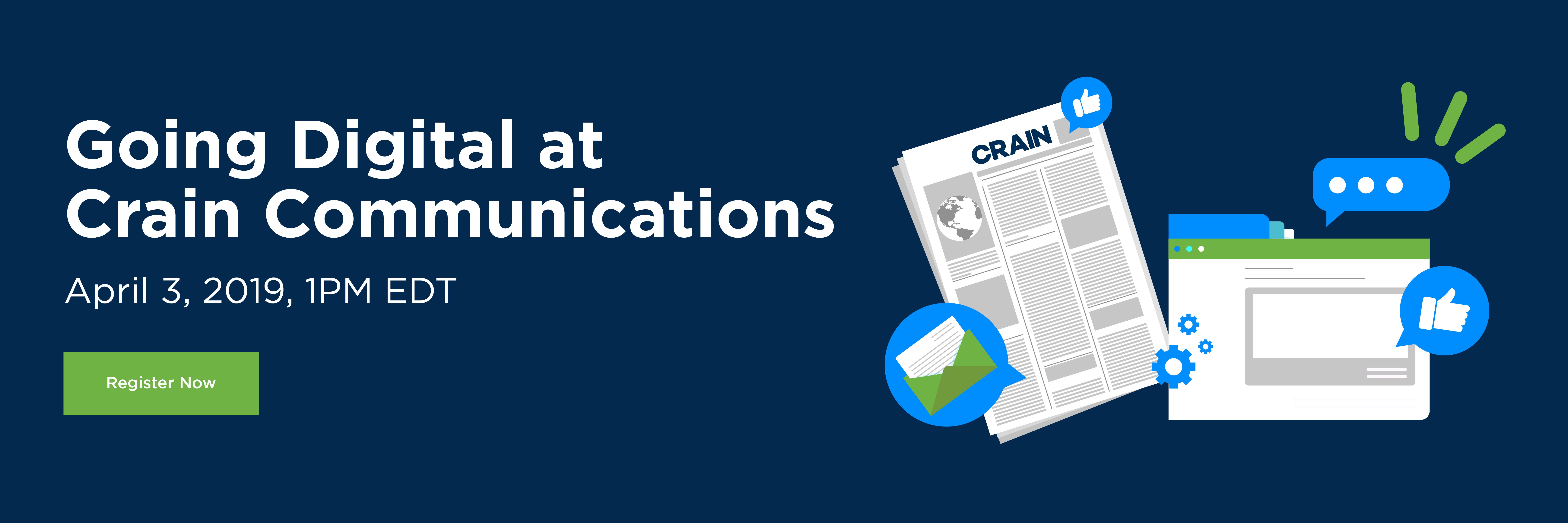 Going Digital at Crain Communication