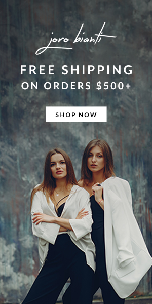 Free shipping On Orders $500+ Joro Bianti display ad