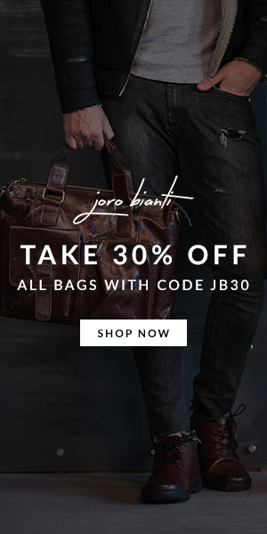 Take 30% Off All Bags joro bianti display ad