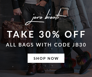 Take 30% Off All Bags Joro Bianti Ad example