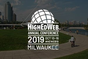 HigherEd Web Event Logo